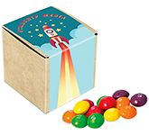Eco Kraft Cube - Skittles