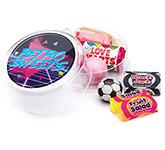 Maxi Round Sweet Pots - Retro