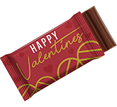 6 Baton Chocolate Bar - Valentines