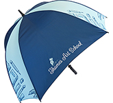 Fibrestorm Printed Square Golf Umbrella