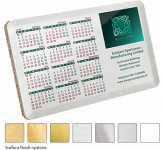 ColourBrite Metal Calendar Coaster