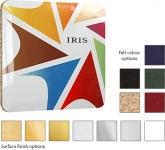 Square ColourBrite Metal Coaster