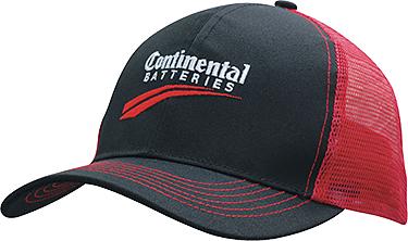Abilene Breathable Poly Twill Caps