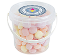 Mini Sweet Buckets - Fruit Sweets  by Gopromotional - we get your brand noticed!