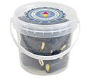 Mini Sweet Buckets - Liquorice Sticks  by Gopromotional - we get your brand noticed!