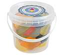 Mini Sweet Buckets - Wine Gums  by Gopromotional - we get your brand noticed!