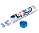 Christmas Maxi Sweet Tubes - Snowman Gourmet Jelly Beans  by Gopromotional - we get your brand noticed!