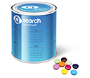 Large Sweet Paint Tins - Chocolate Beanies  by Gopromotional - we get your brand noticed!