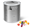 Large Sweet Paint Tins - Gourmet Jelly Beans  by Gopromotional - we get your brand noticed!
