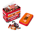 London Bus Sweet Tins - Celebrations  by Gopromotional - we get your brand noticed!
