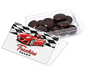 Maxi Rectangular Sweet Pots - Chocolate Jesters  by Gopromotional - we get your brand noticed!