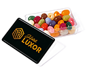 Maxi Rectangular Sweet Pots - Gourmet Jelly Beans  by Gopromotional - we get your brand noticed!