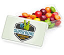 Maxi Rectangular Sweet Pots - Skittles  by Gopromotional - we get your brand noticed!