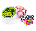 Maxi Round Sweet Pots - Retro Sweets  by Gopromotional - we get your brand noticed!
