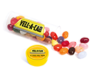 Midi Clear Sweet Tubes - Gourmet Jelly Beans  by Gopromotional - we get your brand noticed!
