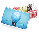 Midi Rectangular Sweet Pots - Jelly Babies  by Gopromotional - we get your brand noticed!