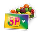 Midi Rectangular Sweet Pots - Skittles  by Gopromotional - we get your brand noticed!