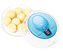 Maxi Round Sweet Pots - White Chocolate Malt Balls  by Gopromotional - we get your brand noticed!