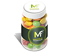Mini Sweet Jars - Skittles  by Gopromotional - we get your brand noticed!