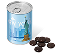 Ring Pull Sweet Tins - Chocolate Jesters  by Gopromotional - we get your brand noticed!
