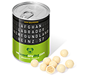 Ring Pull Sweet Tins - White Chocolate Malt Balls  by Gopromotional - we get your brand noticed!