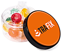 Screw Top Sweet Jars - Polo Fruits  by Gopromotional - we get your brand noticed!