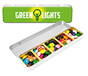 Slim Treat Tins - Chocolate Beanies  by Gopromotional - we get your brand noticed!