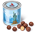 Small Sweet Paint Tins - Milk Chocolate Malt Balls  by Gopromotional - we get your brand noticed!