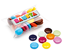 Small Sweet Pouches - Chocolate Beanies  by Gopromotional - we get your brand noticed!