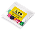 Sweet Treat Bags - Chocolate Beanies - 10g  by Gopromotional - we get your brand noticed!