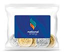 Sweet Treat Bags - Chocolate Foil Wrapped Coins - 20g  by Gopromotional - we get your brand noticed!