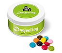 Treat Tins - Chocolate Beanies  by Gopromotional - we get your brand noticed!