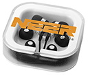 Bellino Earbuds With Microphone  by Gopromotional - we get your brand noticed!