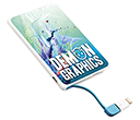 Slimline Power Banks - 1800mAh  by Gopromotional - we get your brand noticed!
