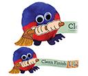 Broom Handholder Logobugs  by Gopromotional - we get your brand noticed!
