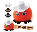 Cowboy Hatted Logobugs  by Gopromotional - we get your brand noticed!