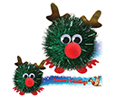 Glitter Reindeer Logobugs  by Gopromotional - we get your brand noticed!