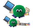 Laptop Handholder Logobugs  by Gopromotional - we get your brand noticed!