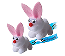 Large Rabbit Logobugs  by Gopromotional - we get your brand noticed!