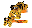 Large Tiger Logobugs  by Gopromotional - we get your brand noticed!