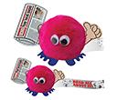 Newspaper Handholder Logobugs  by Gopromotional - we get your brand noticed!
