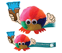 Paint Brush Handholder Logobugs  by Gopromotional - we get your brand noticed!