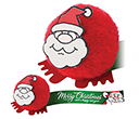 Santa Snowball Logobugs  by Gopromotional - we get your brand noticed!
