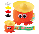 Sombrero Hatted Logobugs  by Gopromotional - we get your brand noticed!