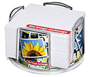 Orbit Paper Note Block Holders  by Gopromotional - we get your brand noticed!