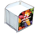 Arc Maxi Insert Note Block Holders  by Gopromotional - we get your brand noticed!