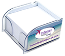 Arc Mini Insert Note Block Holders  by Gopromotional - we get your brand noticed!