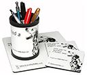 Mouse Mat DeskSets  by Gopromotional - we get your brand noticed!