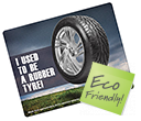 Rectangle Recycled Tyre Brite Mats  by Gopromotional - we get your brand noticed!