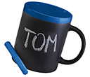 Durham Duet Chalk Mugs  by Gopromotional - we get your brand noticed!